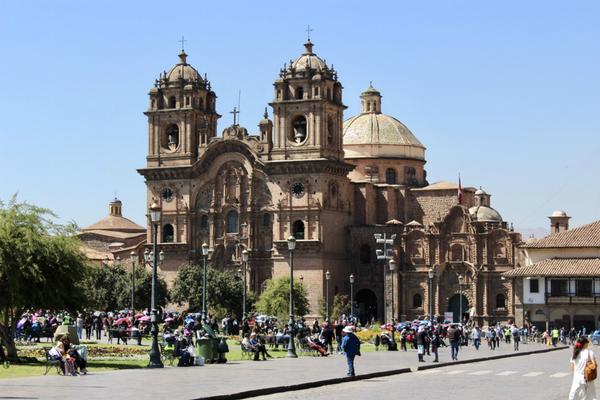Cusco Cathedral - Peru Quechuas Lodge Ollantaytambo 600x400