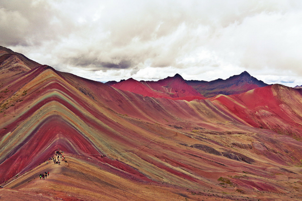 Rainbow Mountain - Peru Quechuas Lodge Ollantaytambo 600x400