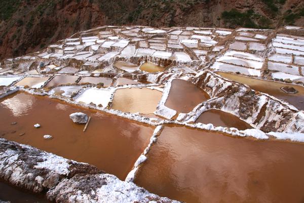Salineras de Maras - Inca Salt Mine - Peru Quechuas Lodge Ollantaytambo 600x400