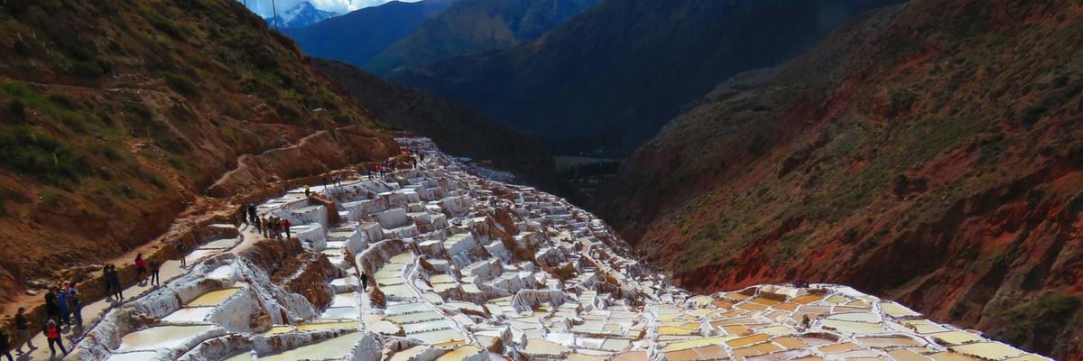 Maras Inca Salt Mine - Peru Quechuas Lodge 1200x400