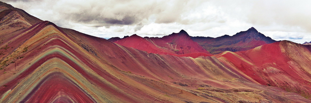Rainbow Mountain - Peru Quechuas Lodge 1200x400